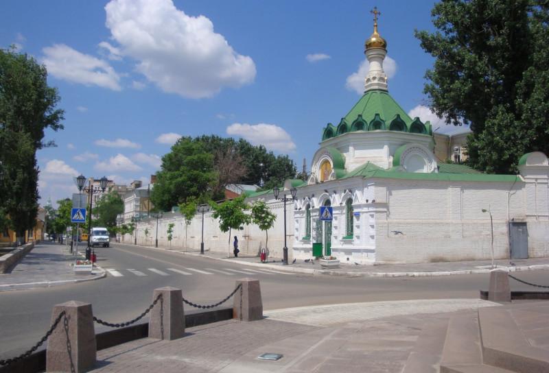Ограда Благовещенского монастыря