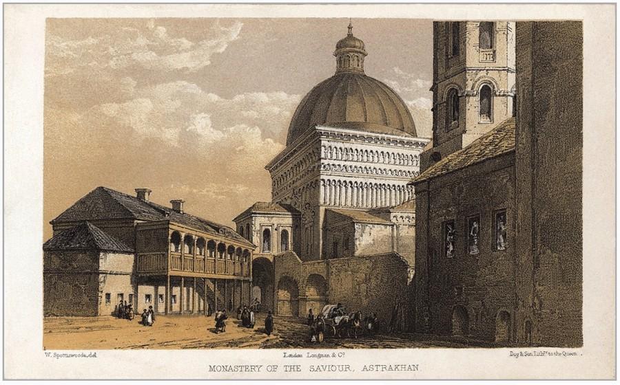 Споттисвуд. Спасо-Преображенский монастырь, 1856 г.