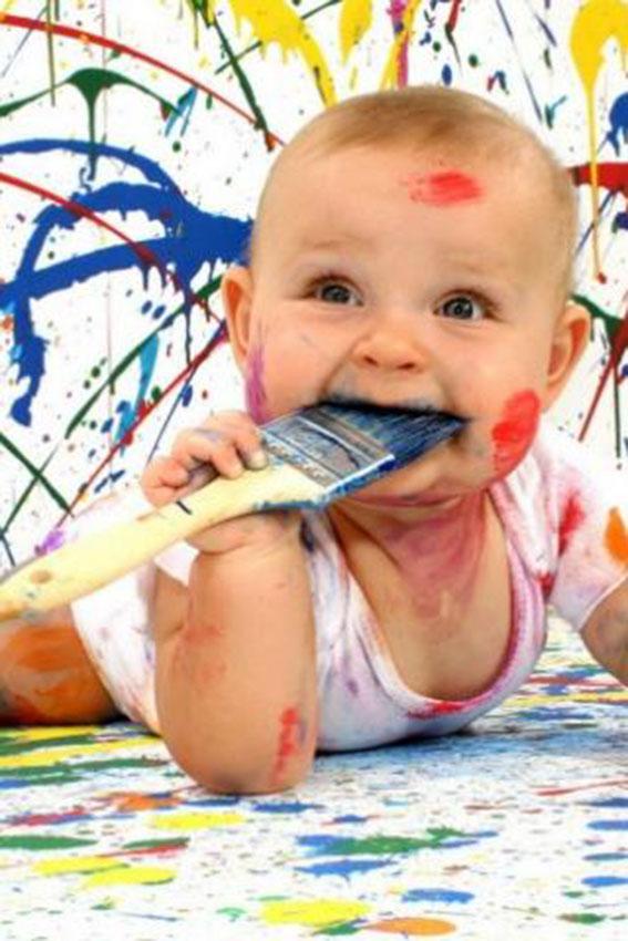 Как ребенок рисует