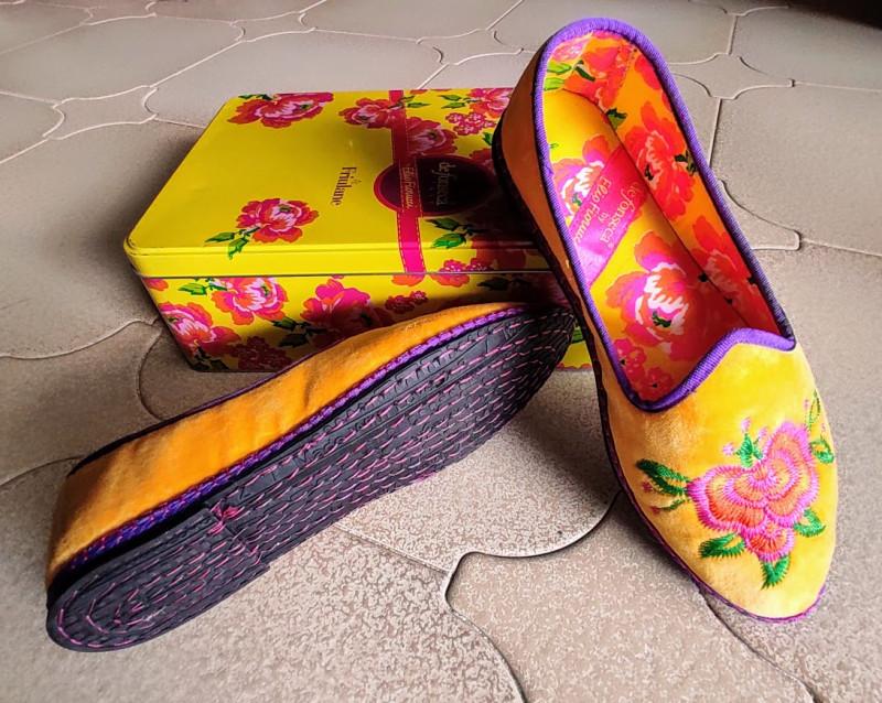 Совсем как какие-нибудь туфельки из азиатской республики, такие все из себя бархатные и уютные