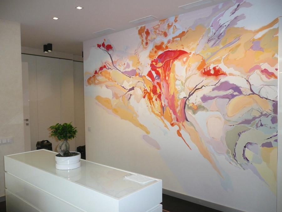 Дизайн покраски стенграфиями