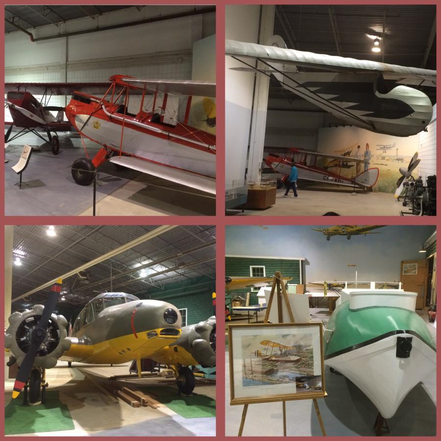 Обои С2, спортивный самолёт, краснобелый. Авиация foto 17