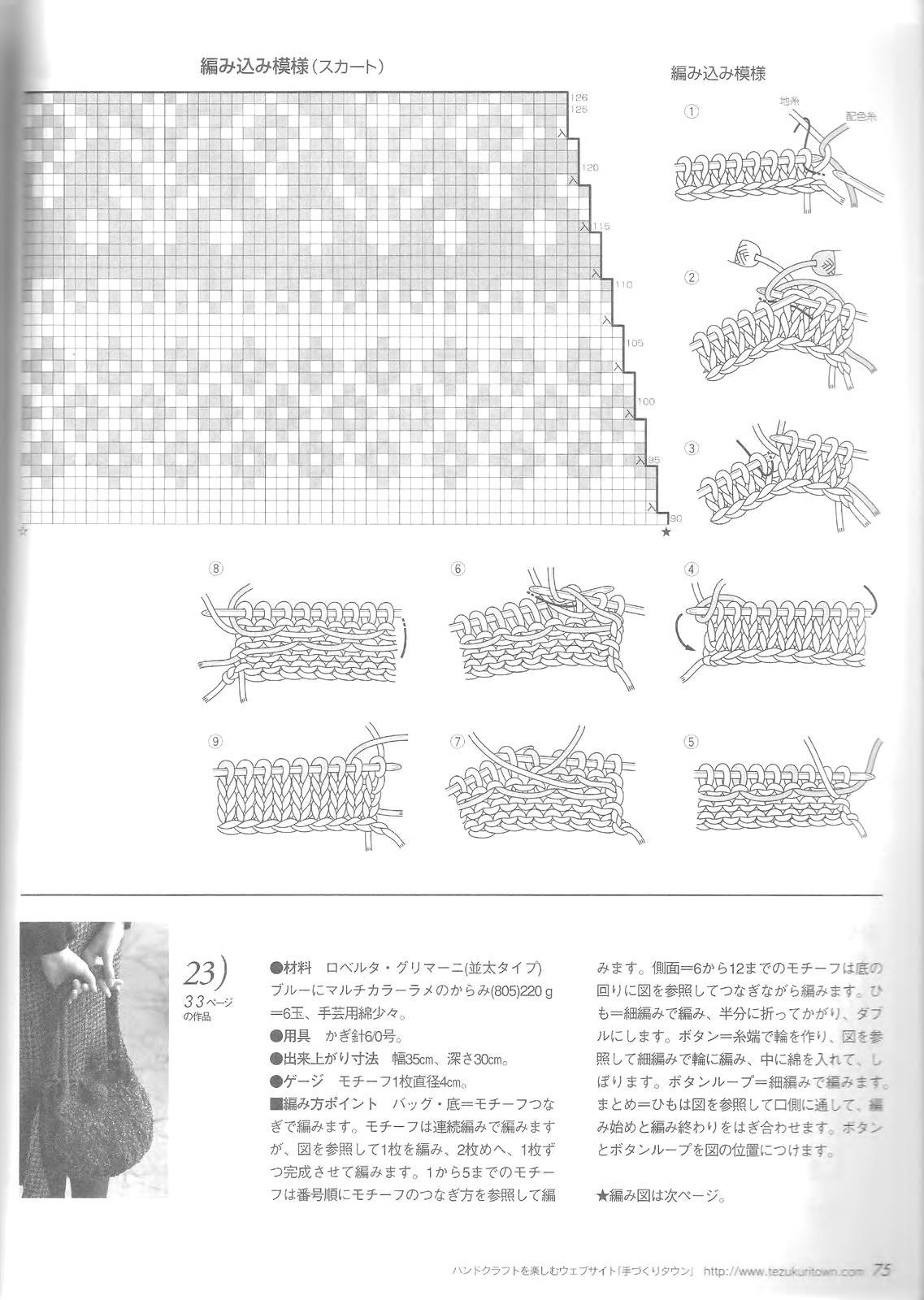 Let's knit series NV4375 2008 M-L sp-kr_75
