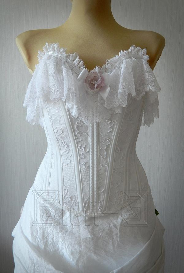 bridal corset part of victorianstyled wedding dress