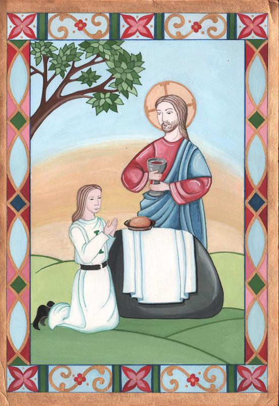 breviary eucharist colour
