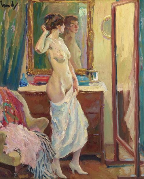 Edward Cucuel - The Looking Glass