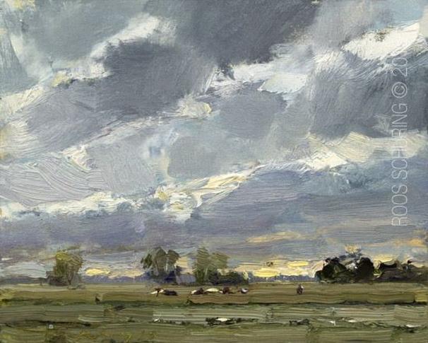 Roos Schuring  -  Evening Landscape