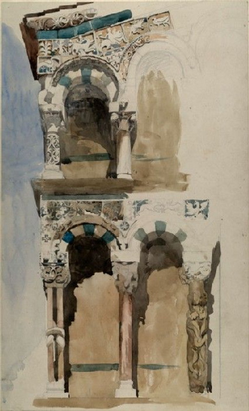 John Ruskin - Church of San Michele in Foro, Lucca
