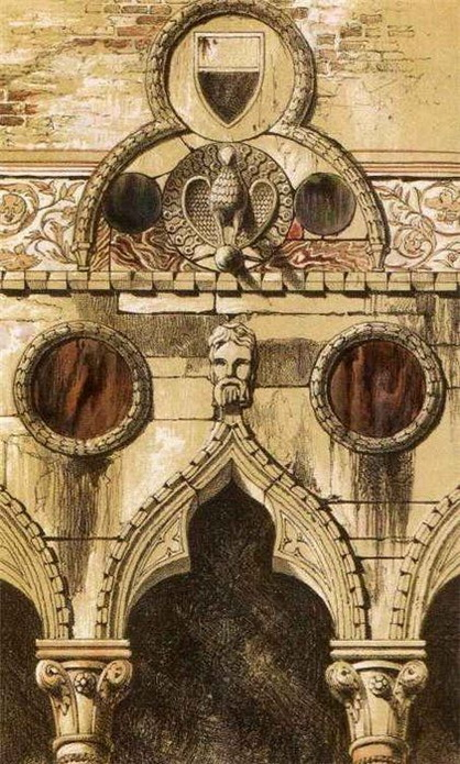 John Ruskin - Illustration for The Stones of Venice