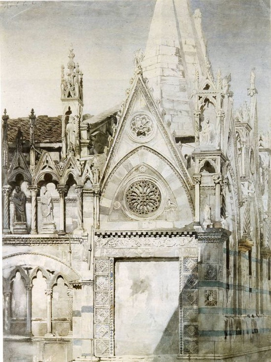 John Ruskin - Santa Maria della Spina, Pisa