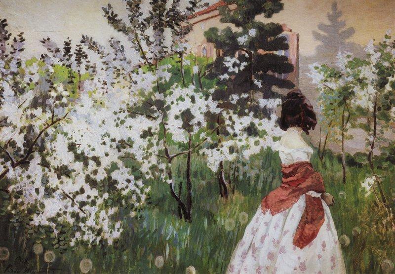 Борисов-Мусатов Весна