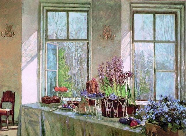 Жуковский Станислав Праздник весны. 1911