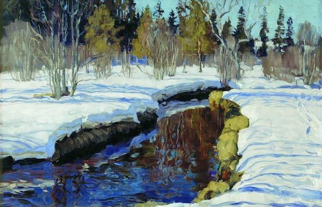 Станислав Жуковский - Зима