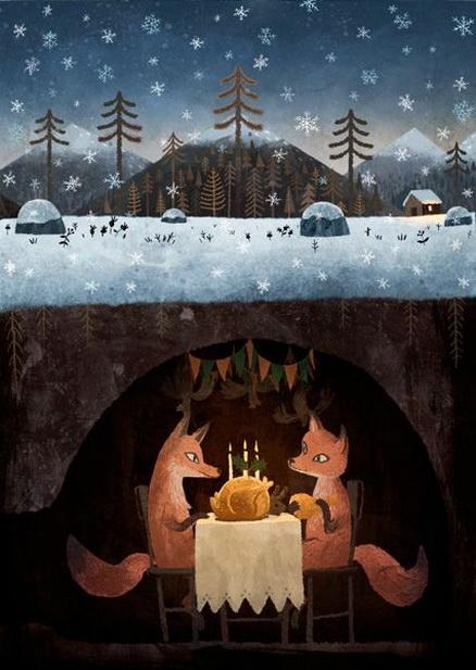 Chuck Groenink -  Winter Foxes