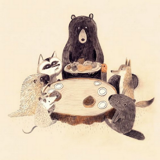 Chuck Groenink - Woodland friends dinner party