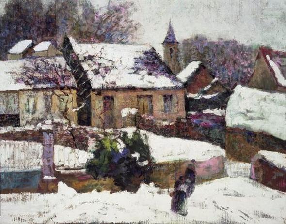 Victor Charreton -  Wet Snow