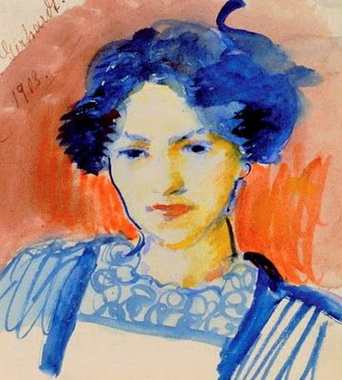 August Macke  - Elisabeth