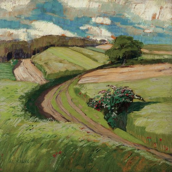 Alois Kalvoda - Field Road, Javornice