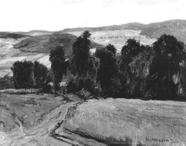 Alois Kalvoda -Letni krajina