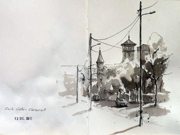 Eduardo Vicente -  Barcelona, calle Cister