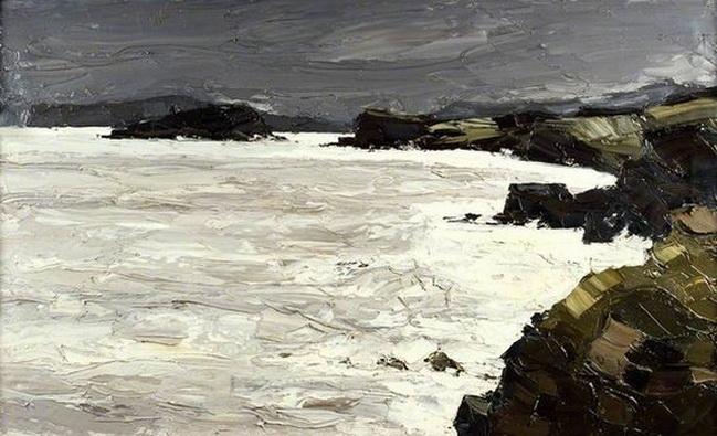 Kyffin Williams - Penmon Coast and Ynys Seiriol