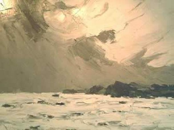 Kyffin Williams - Rough Sea 2