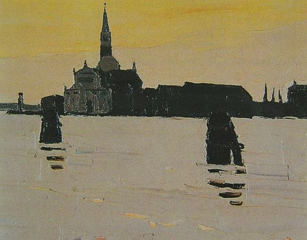 Kyffin Williams - Venice Early Morning