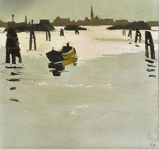 Kyffin Williams - Venice