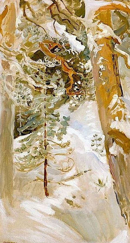 Akseli Gallen-Kallela - Akseli Snowscape