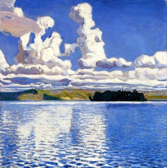 Akseli Gallen-Kallela - Cloud Towers