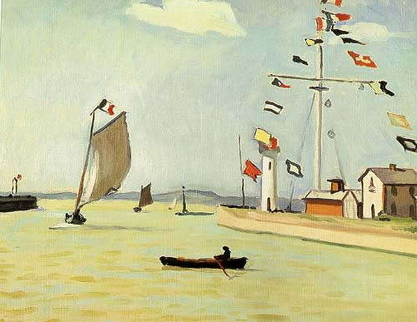 Albert Marquet -   Порт в Онфлере