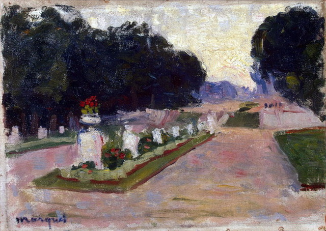 Albert Markout  -  Аллея Люксембургского сада