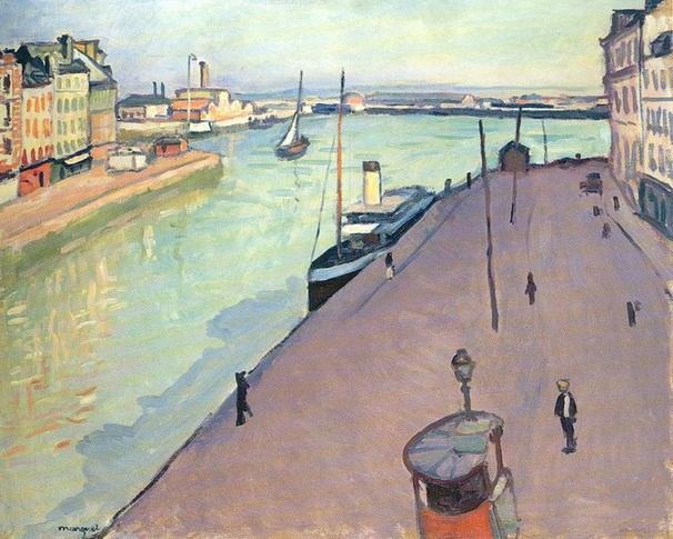 Albert Marquet -  le port du Havre