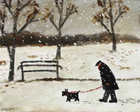 Gary Bunt -  cold feet