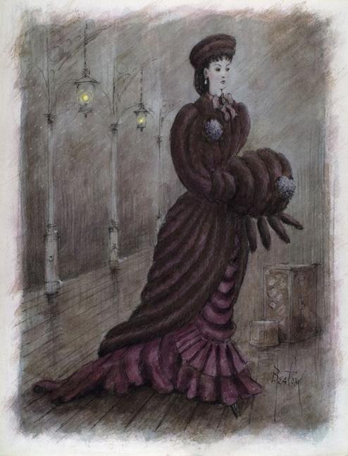 Cecil Beaton - Anna Karenina (1948) Costume design
