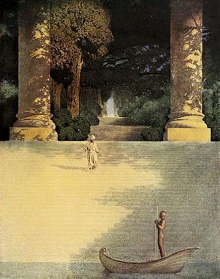 Maxfield Parrish - Arabian Nights