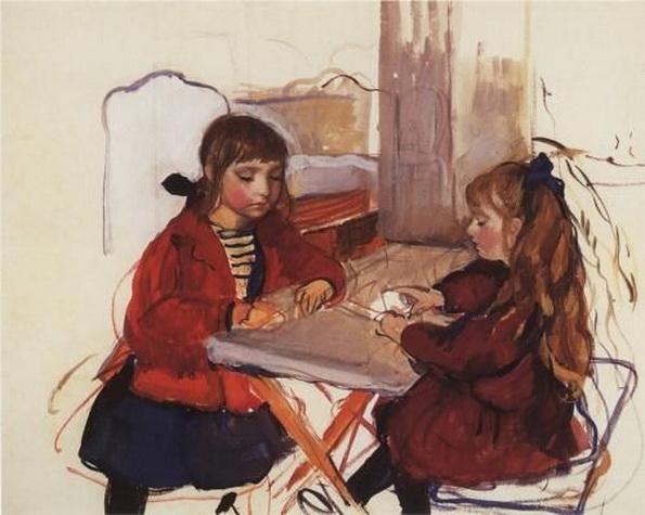 Серебрякова - children