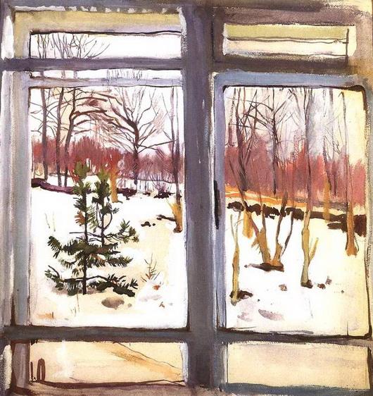 Серебрякова - Окно