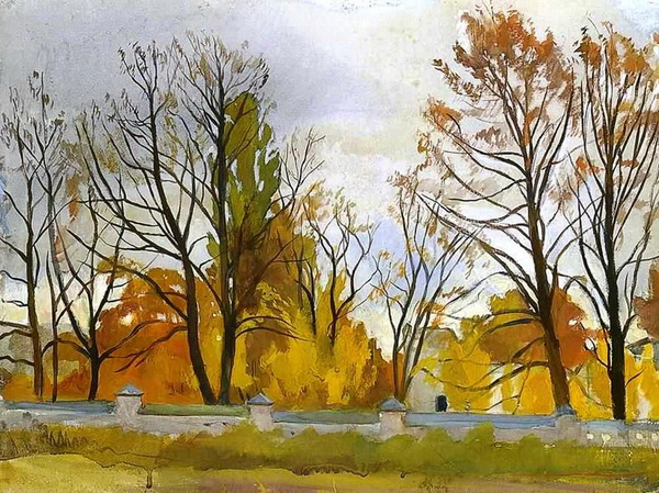 Серебрякова - Осенний парк