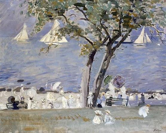 Paul Cesar Helleu -  Les regates a Deauville