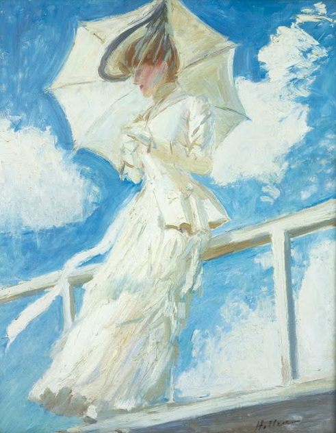 Paul Cesar Helleu -  Portrait de Madame Helleu
