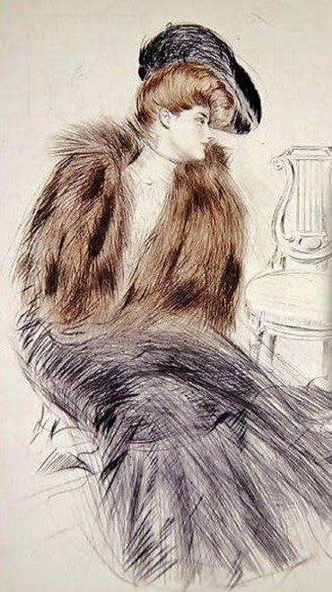 Paul Cesar Helleu -  Women Seated