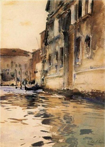 John Singer Sargent  - Venice