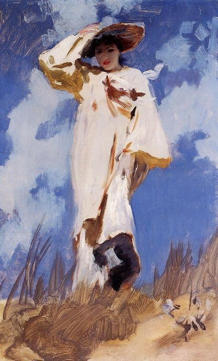 John Singer Sargent - on the bich