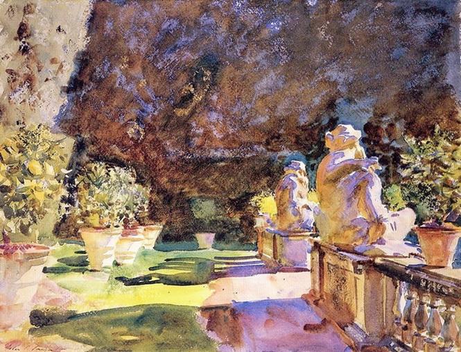 John Singer Sargent  - Villa di Marlia