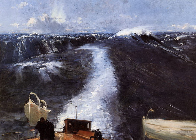 John Singer Sargent  - Atlantic Storm