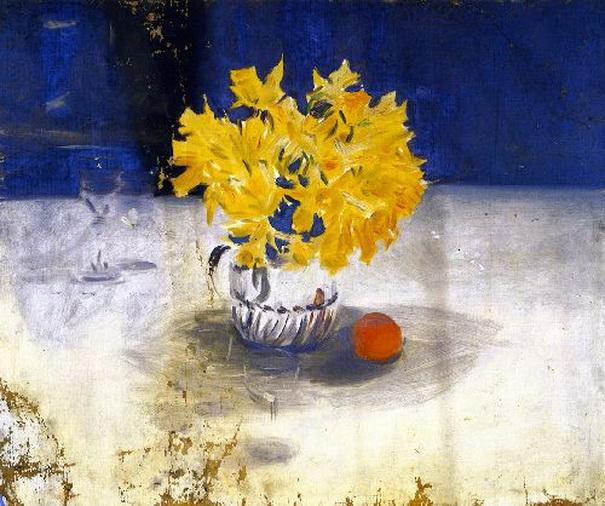 John Singer Sargent  - Daffodils in a Vase