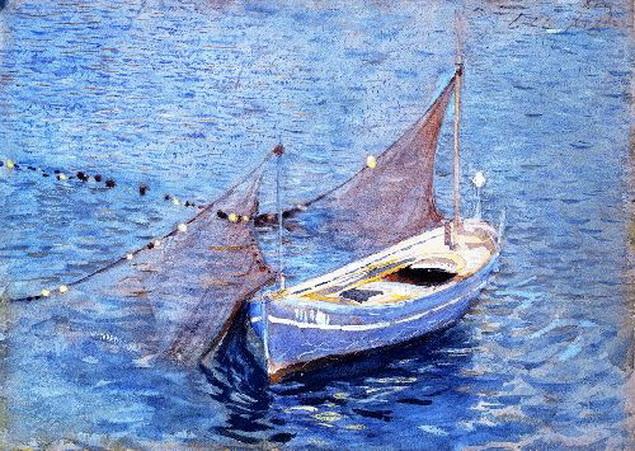 John Singer Sargent  - Filet et Barque
