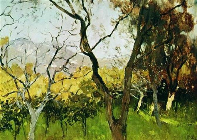 Исаак Левитан Весна в Крыму 1900