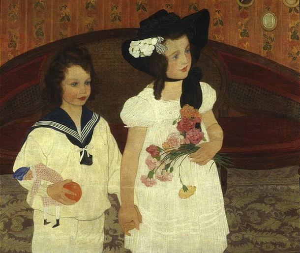 Ernest Bieler - 2 girls